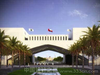 Noel Robinson事务所在阿曼设计澳大利亚Dollars Sohar大学