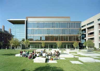 """SOM为哈佛大学设计""""西北科技楼"""""""