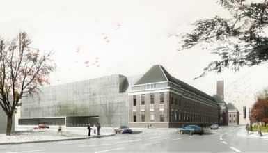 荷兰代尔伏特理工大学建筑系大楼设计竞赛揭晓1