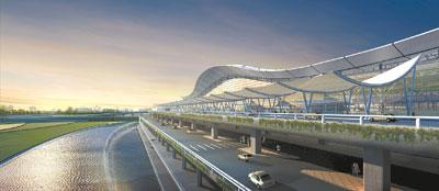 湖南长沙黄花机场新航站楼开工-图片1