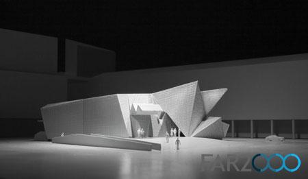 "COOP HIMMELB(L)AU公布在德国设计的""迷你版""歌剧院"