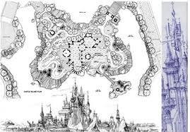 迪士尼城堡设计图 Disney Castle
