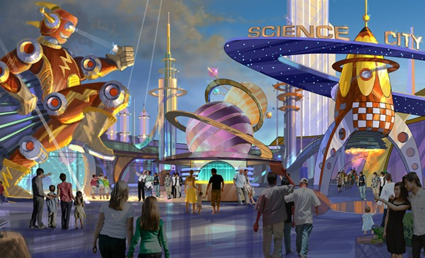 Science City 概念图