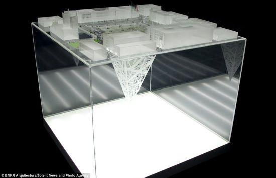 这座建筑将成为一个工程学奇迹