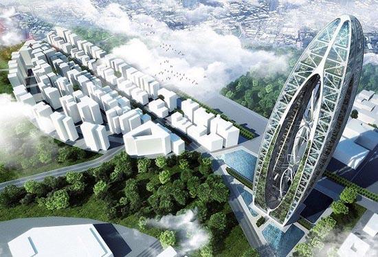 全新环保概念建筑