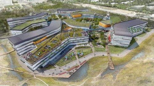 谷歌新总部设计图曝光
