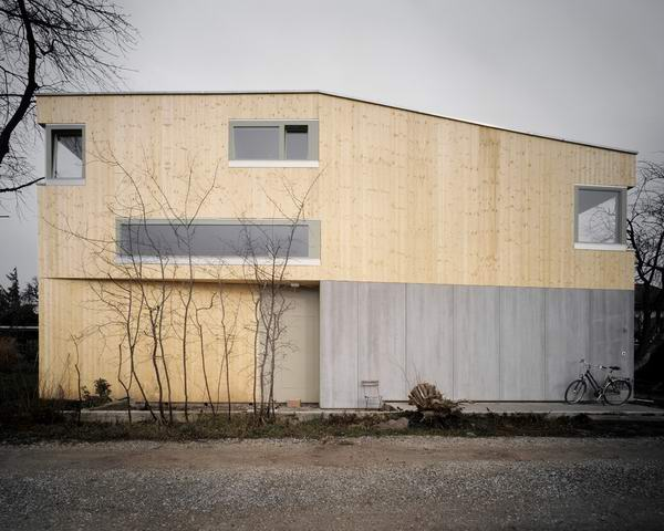 House Muller Gritsch designed by AFGH