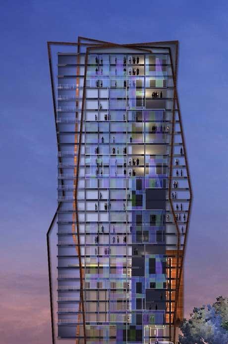 HLM Architects' Barking tower