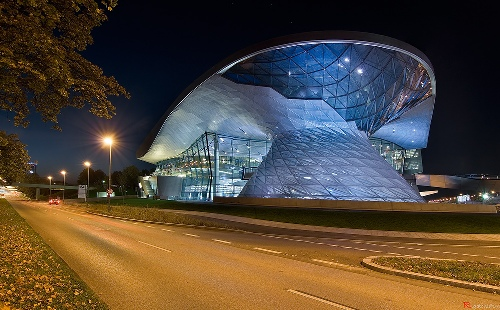 bmw welt by wolf prox: double cone