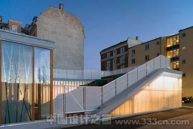 丹麦哥本哈根托儿中心以鲜艳的屋顶照亮邻里