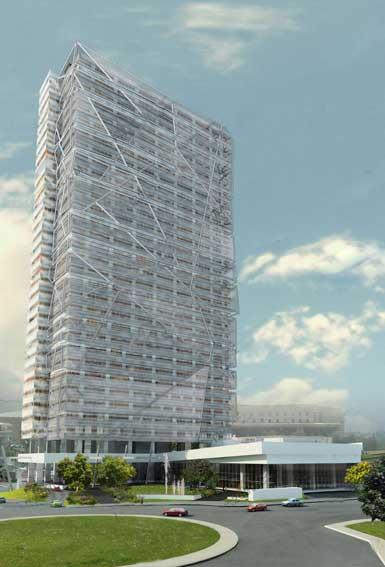 """墨西哥城将建33层""""拉美最绿色建筑"""""""
