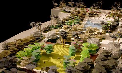洛杉矶市民中心公园设计