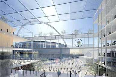 Hopkins事务所设计伦敦Brent市民中心