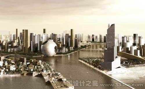 OMA:迪拜滨水城市设计-图片1
