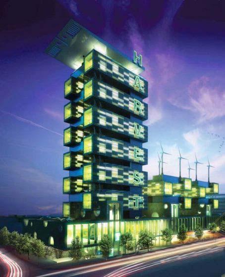 绿色收获大厦-图片2
