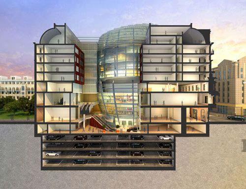 HOK公司公布莫斯科东方酒店设计方案-图片2
