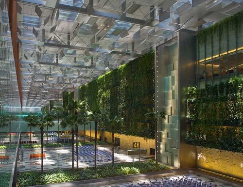 樟宜机场3号候机楼室内景观-图片1