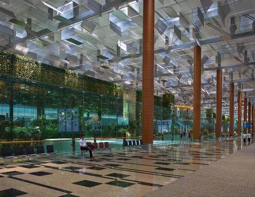 樟宜机场3号候机楼室内景观-图片3