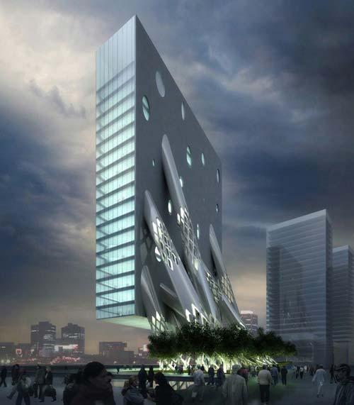MAD:迪拜Al Rostamini集团总部办公楼-图片1
