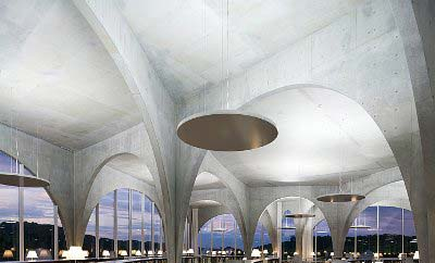 东京Tama艺术大学的图书馆-图片1