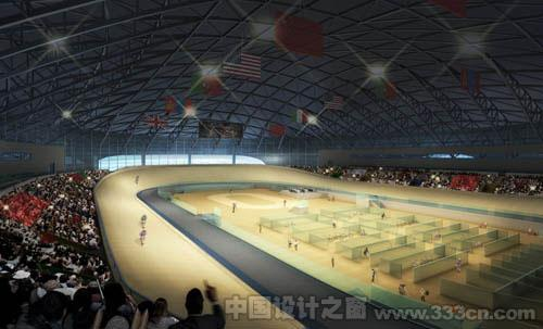 广州亚运会场馆效果图