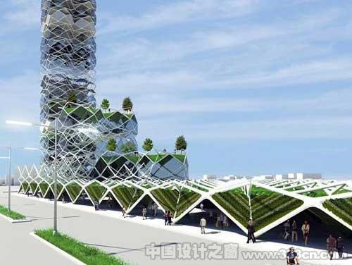 垂直公园:墨西哥城的层叠式太阳能摩天建筑-图片3