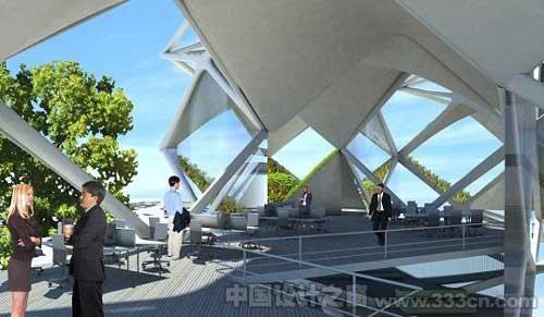 垂直公园:墨西哥城的层叠式太阳能摩天建筑-图片4