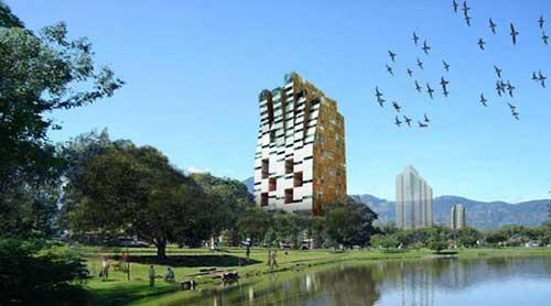 Moho:哥斯达黎加圣何塞多功能大厦-图片1