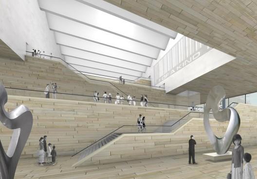 天津美术馆设计方案KSP夺冠