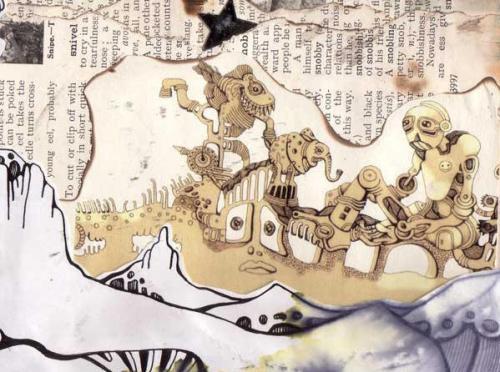 南非Ree Treweek插画之一
