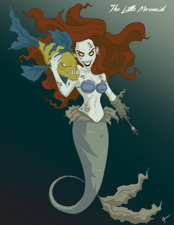 Twisted_Princess__Ariel_by_jeftoon01