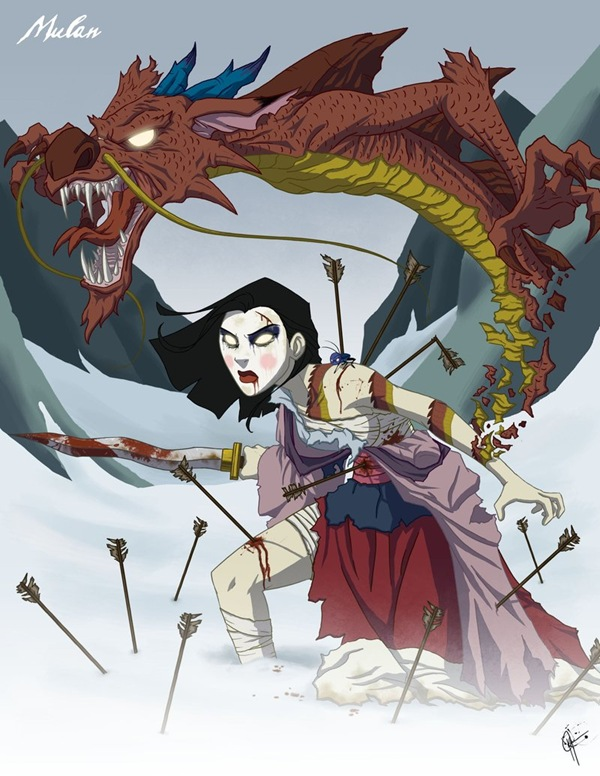 Twisted_Princess__Mulan_by_jeftoon01