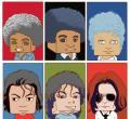 张小盒漫画悼念迈克尔杰克逊
