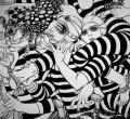 日式风格插画--清水裕子线稿简色作品欣赏(1)