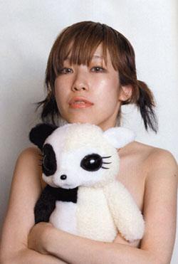 野田�M与她的设计的KAWAII玩偶HanPanda