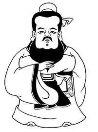 孔子卡通形象
