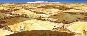 《卖猪》充分表现了中国黄土高原苍凉、厚重的美。(创作方供图)