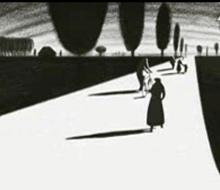 法国黑白长篇动画《怕黑怪谈录》