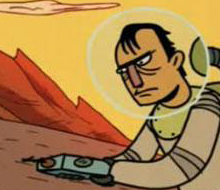 二维动画《Alpha 9行星的恐怖事儿》 赏