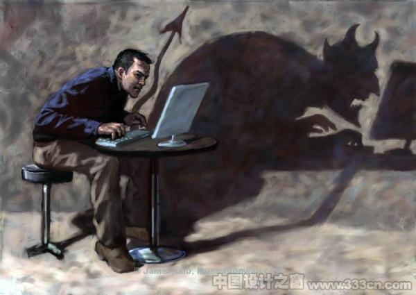 国外现实主义插画设计欣赏 Jamel的插画