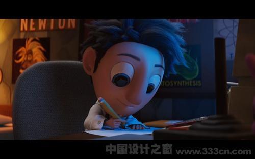 索尼3D动画电影《天降美食》发布最新海报