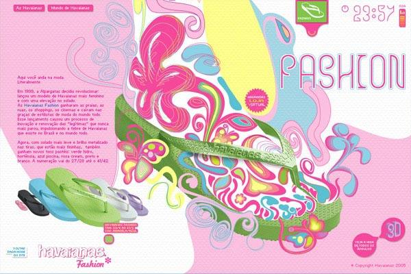 色彩超华丽的国外平面设计作品(2)
