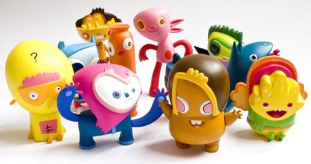 英国Burgertown系列玩偶设计