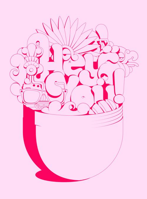 西班牙字体设计 字体设计 国外字体设计 字体创新 创意字体