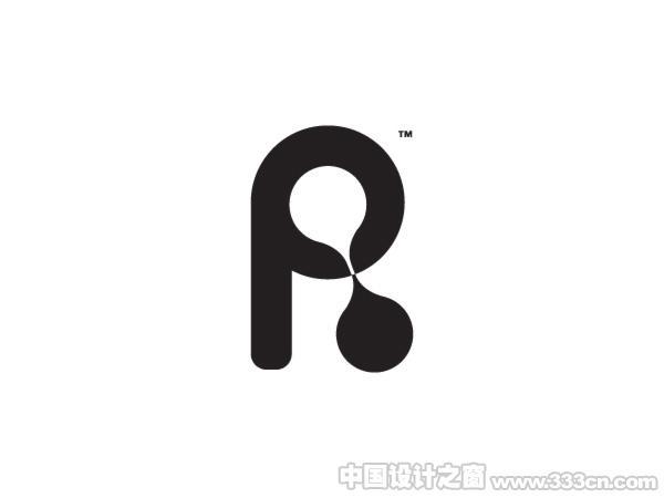 国外黑白简洁标志设计