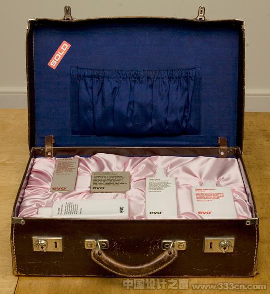 国外著名美发品牌Evo产品包装设计