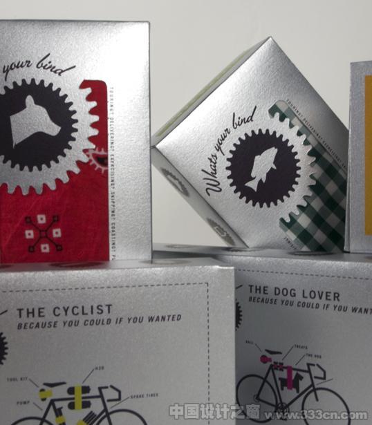 国外自行车扎带包装设计