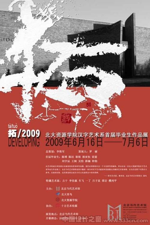 北大资源学院 汉字艺术系