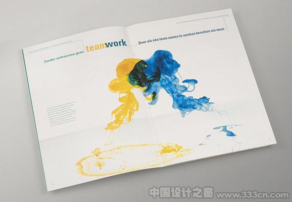 荷兰银行年报画册欣赏