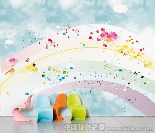 国外漂亮的创意墙纸设计